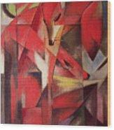 The Fox Wood Print by Franz Marc