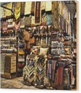 The Grand Bazaar In Istanbul Turkey Wood Print by David Smith