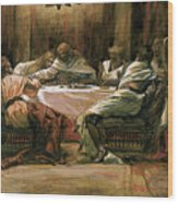 The Last Supper Wood Print by Tissot