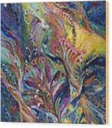 The Night Wind ...you Can Purchase The Original On Www.elenakotliarker.com Wood Print by Elena Kotliarker