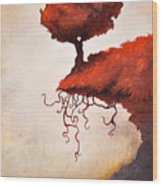 The Optimistic Crag Wood Print by Ethan Harris