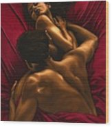 The Passion Wood Print by Richard Young