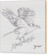 The Peace Offering Wood Print by John Keaton