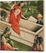 The Resurrection Wood Print by Johann Koerbecke