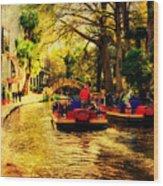 The Ride Wood Print by Iris Greenwell