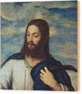 The Savior Wood Print by Titian