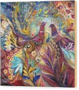 The Sea Wind Wood Print by Elena Kotliarker