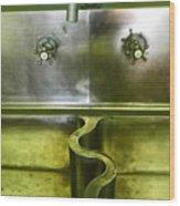 The Sink Wood Print by Elizabeth Hoskinson
