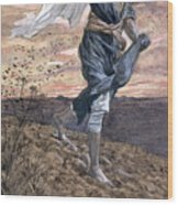 The Sower Wood Print by Tissot