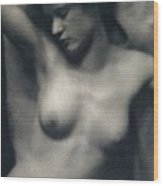 The Torso Wood Print by White and Stieglitz