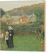 The Widow Wood Print by Charles Napier Hemy