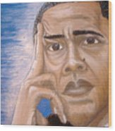 Thinking Of A Master Plan Wood Print by Keenya  Woods