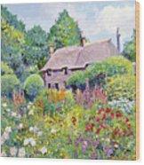 Thomas Hardy House Wood Print by David Lloyd Glover