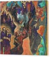 Three Dwarves Wood Print by David Matthews