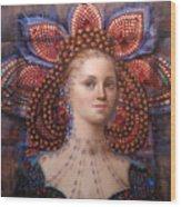 Titania 2 Wood Print by Loretta Fasan
