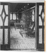 Titanic: Private Deck, 1912 Wood Print by Granger