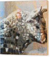 Toro Taurus Bull Wood Print by Lutz Baar
