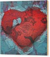 Tough Love Wood Print by Linda Sannuti