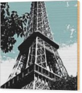 Tour Eiffel Wood Print by Juergen Weiss