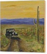 Touring Arizona Wood Print by Jack Skinner