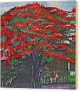 Treasures Of Puerto Rico Wood Print by Gloria E Barreto-Rodriguez