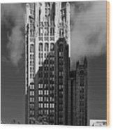 Tribune Tower 435 North Michigan Avenue Chicago Wood Print by Christine Till