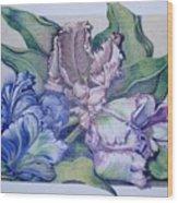 Trilogy Wood Print by Joyce Hutchinson
