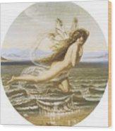 Under The Sea Wood Print by Joseph Noel Paton