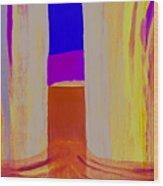 Undertow. Wood Print by Jarle Rosseland