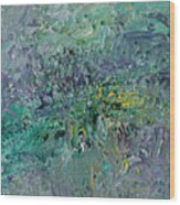 Blind Giverny Wood Print by Ralph White
