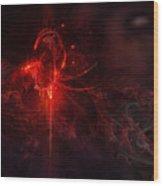 Utherworlds Tougredas Wood Print by Philip Straub