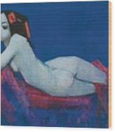 Vicky Wood Print by Endre Roder