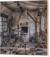 Victorian Locksmith Wood Print by Adrian Evans