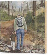 Vince And Sam Wood Print by Sam Sidders