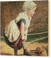 Wait For Me Wood Print by Sophie Anderson