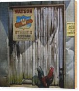Waiting For Watson 2 Wood Print by Doug Strickland