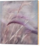 Whispers In The Wind Wood Print by Priska Wettstein