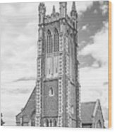 Williams College Thompson Memorial Chapel Wood Print by University Icons
