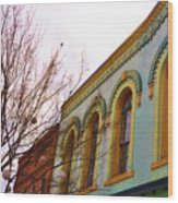 Windows Of Color Wood Print by Jan Amiss Photography