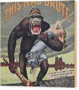World War I: Recruitment Wood Print by Granger