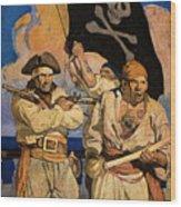 Wyeth: Treasure Island Wood Print by Granger