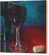 Zinfandel Wood Print by Shannon Grissom