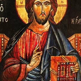 Ryszard Sleczka -  Christ The Pantocrator Icon II