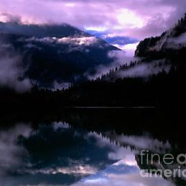 Diablo Lake Sunrise by Tracy Knauer