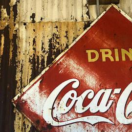 Drink Coca Cola  Memorbelia by Bob Christopher