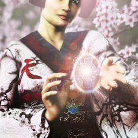 Easter Vision Bl. Lucy Chakichi of Japan by Suzanne Silvir