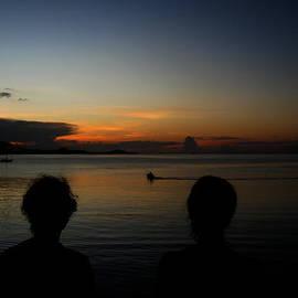 Michelle Meenawong -  enjoying sunset