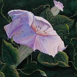 Sharon Duguay -  First  Trumpet Flower  of Summer