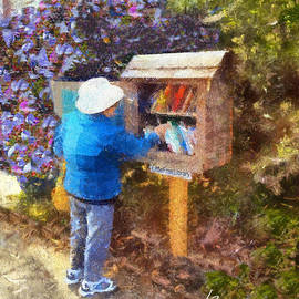 Little Free Library by Linda Weinstock