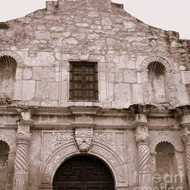 Mission San Antonio de Valero San Antonio Texas 2 by Jennifer E Doll